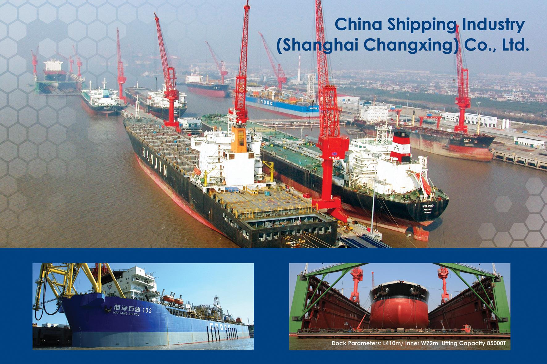 Shanghai shipyard and ship repair in China | BSA Shipping