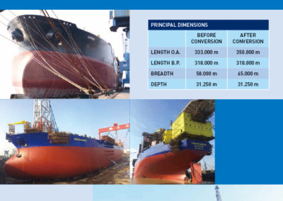 Conversion Project from VLCC to FPSO for Yinson